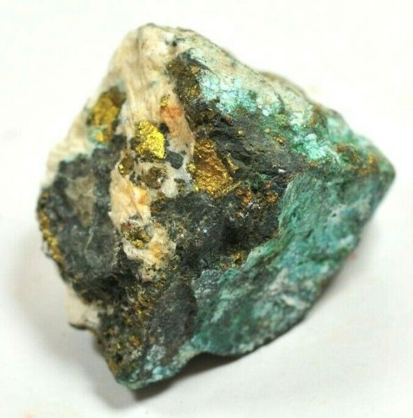 NATURAL SPECIMEN of LINARITE, Etc. from RED GILL, CUMBRIA, UK 3.4 cm 53.89 gms
